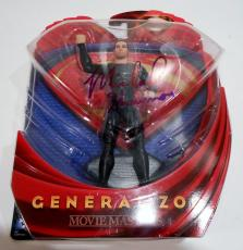 Michael Shannon Signed Movie Toy w/COA Proof General ZOD Superman
