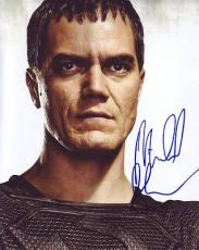 MICHAEL SHANNON signed *SUPERMAN* Man Of Steel ZOD 8X10 photo *PROOF* W/COA #14