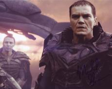 MICHAEL SHANNON signed *SUPERMAN* Man Of Steel ZOD 8X10 photo *PROOF* W/COA #3