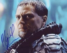 MICHAEL SHANNON signed *SUPERMAN* Man Of Steel ZOD 8X10 photo *PROOF* W/COA #7