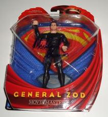 MICHAEL SHANNON signed *SUPERMAN* MAN OF STEEL ZOD Toy W/COA *PROOF* Adult