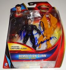 MICHAEL SHANNON signed *SUPERMAN* MAN OF STEEL ZOD Toy W/COA *PROOF* Claw