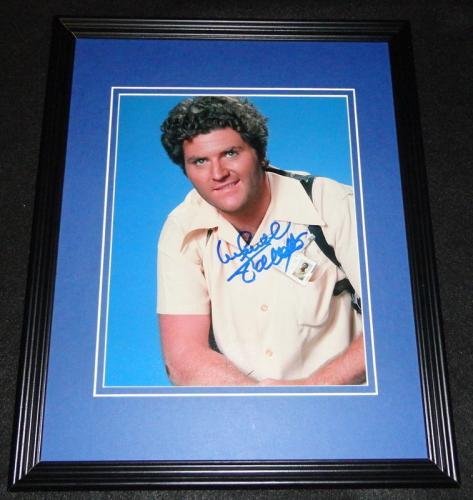 Michael Talbott Signed Framed 8x10 Photo AW Miami Vice