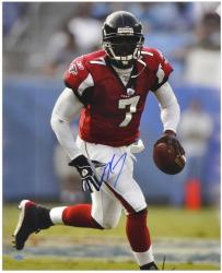 Autographed Michael Vick Photograph - 16x20 Mounted Memories