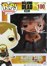 Norman Reedus Signed Funko Pop! Injured Daryl #100 Vinyl Figure