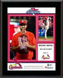 Michael Wacha St. Louis Cardinals 2013 National League Champions MVP Sublimated 10.5'' x 13'' Plaque - Mounted Memories