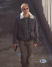 "Michael Weatherly Autographed 8"" x 10"" NCIS Holding Gun Photograph - Beckett COA"