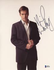 "Michael Weatherly Autographed 8"" x 10"" Posing Photograph - Beckett COA"