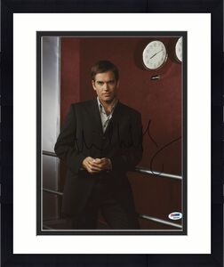 Michael Weatherly NCIS Signed 11x14 Photo Autographed PSA/DNA #K63284