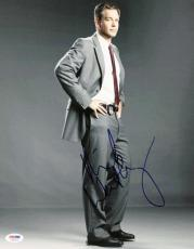 Michael Weatherly NCIS Signed 11X14 Photo Autographed PSA/DNA #S87475