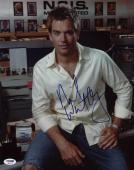 Michael Weatherly NCIS Signed 11X14 Photo PSA/DNA #S87473