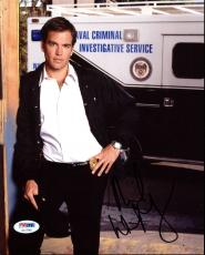 Michael Weatherly NCIS Signed 8X10 Photo Autographed PSA/DNA #AC17245