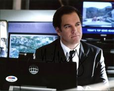 Michael Weatherly NCIS Signed 8X10 Photo Autographed PSA/DNA #AC17249