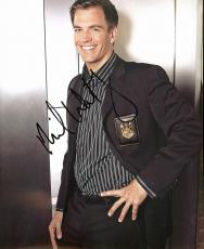 Michael Weatherly NCIS Signed 8X10 Photo Autographed PSA/DNA #AC17313