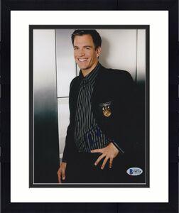 Michael Weatherly Signed 8x10 Photo Bull Ncis Beckett Bas Autograph Auto Coa C