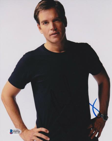 Michael Weatherly Signed 8x10 Photo Bull Ncis Beckett Bas Autograph Auto Coa D