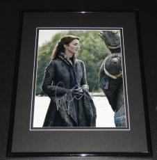 Michelle Fairley Signed Framed 8x10 Photo AW Game of Thrones