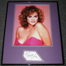 Michelle Johnson SEXY RARE Signed Framed 16x20 Photo Display AW Blame it On Rio