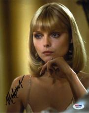 MICHELLE PFEIFFER Scarface Autographed Signed 8x10 Photo Certified PSA/DNA
