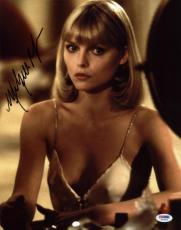 Michelle Pfeiffer Scarface Signed 11x14 Photo Psa/dna #w73375