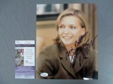 Michelle Pfeiffer Signed 8x10 Photo Catwoman Scarface JSA COA