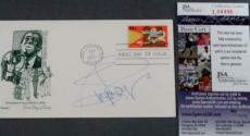 Michelle Pfeiffer Signed FDC First day Issue Cachet Envelope JSA COA Batman