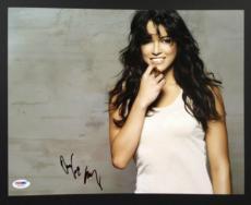 Michelle Rodriguez Signed 11x14 Photo Autograph Psa Coa Resident Evil Fast 6