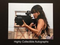 Michelle Rodriguez Signed 8x10 Photo Autograph Machete Fast Furious Kills