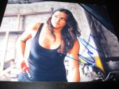 MICHELLE RODRIGUEZ SIGNED AUTOGRAPH 8x10 PHOTO FAST AND THE FURIOUS PROMO COA D