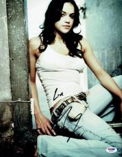 Michelle Rodriguez Signed Fast & Furious Autographed 11X14 Photo PSA/DNA #W62297