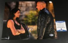 Michelle Rodriguez Signed The Fast And The Furious 11x14 Photo Bas Coa Beckett 7