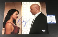 Michelle Rodriguez Signed The Fast And The Furious 11x14 Photo Bas Coa Beckett 8