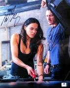 Michelle Rodriguez/Luke Evans Autographed 10X13 Photo Fast & Furious JSA T60102