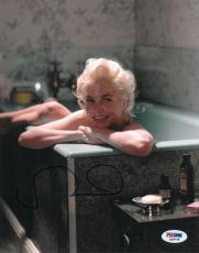 Michelle Williams Signed Marilyn Monroe Authentic 8x10 Photo (PSA/DNA) #Q56735