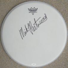 "Mick Fleetwood Mac Signed RARE 14"" Remo Drumhead JSA"