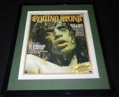 Mick Jagger Framed September 11 1975 Rolling Stone Cover Display Stones