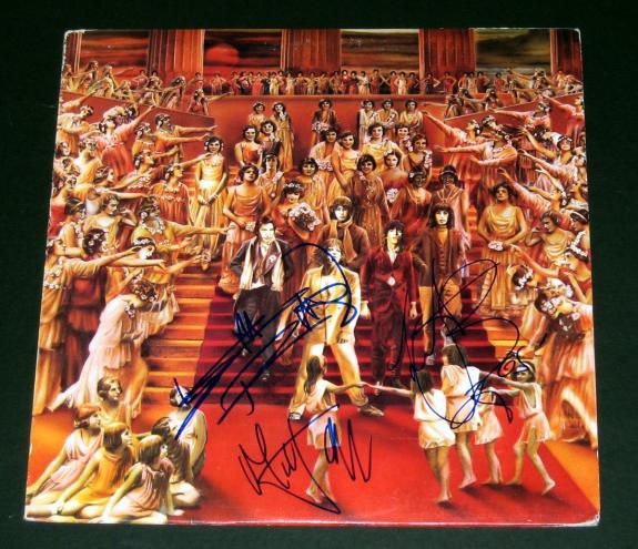 Mick Jagger, Keith Richards & Chalie Watts Signed Rolling Stones Album - BB COA