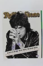 Mick Jagger Signed 1995 Rolling Stone Magazine Cover PSA/DNA #O03926