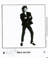 Mick Jagger Signed Autographed 8x10 Photo Stones PSA/DNA