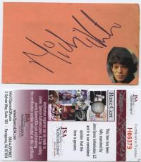 Mick Jagger Signed Autographed Index Card Jsa Coa The Rolling Stones Rare!!!