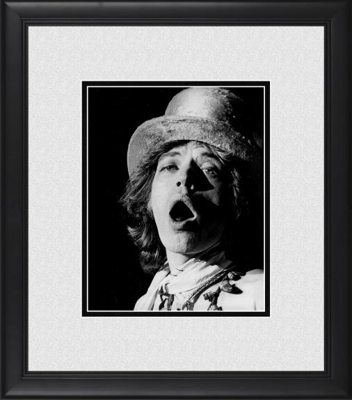 "Mick Jagger The Rolling Stones Framed 8"" x 10"" in Europe Photograph"
