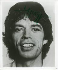 Mick Jagger The Rolling Stones Leader Singer Founder Rare Signed Autograph Photo