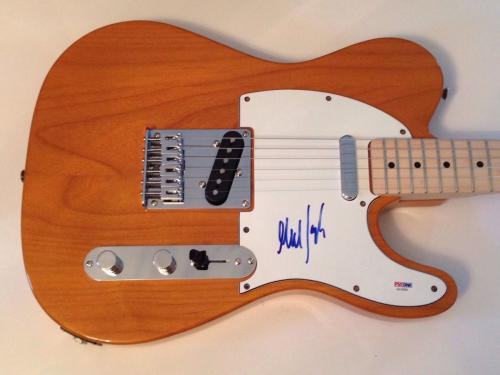 Mick Taylor Rolling Stones signed Fender Guitar Telecaster with psa dna coa