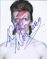 Mick Woody Woodmansey Signed Autographed 8x10 Photo David Bowie Drummer A