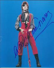 Mick Woody Woodmansey Signed Autographed 8x10 Photo David Bowie Drummer B