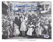 MICKEY CARROLL SIGNED AUTOGRAPHED 8x10 PHOTO MUNCHKIN THE WIZARD OF OZ PSA/DNA