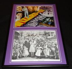 Mickey Carroll Signed Framed 12x18 Photo Display JSA Wizard of Oz
