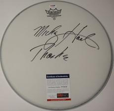 Mickey Hart 'the Greatful Dead' Signed Drumhead Psa/dna Coa V73558