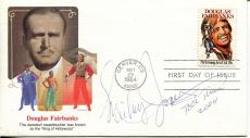Mickey Jones Actor / Drummer First Edition And Bob Dylan Signed Fdc Autograph