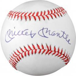 Mickey Mantle Autographed Baseball (JSA LOA) #1